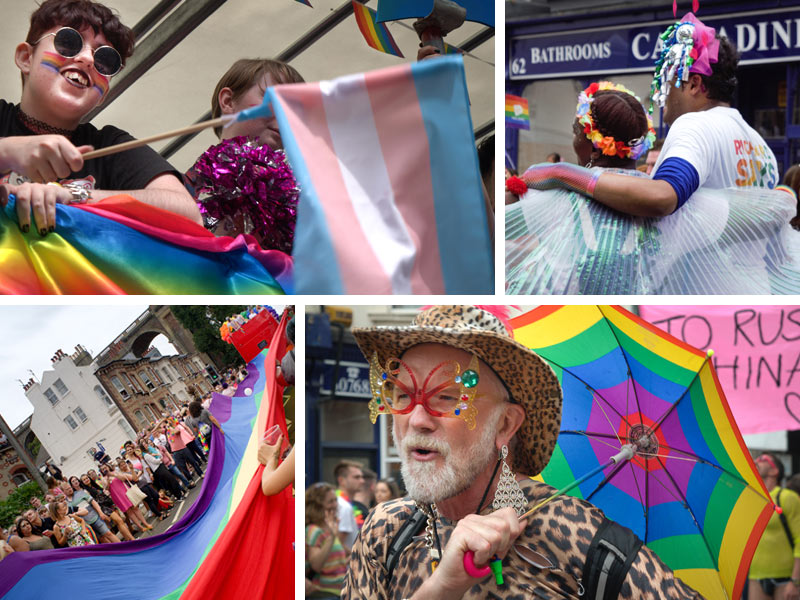 Celebrating Pride in Brighton