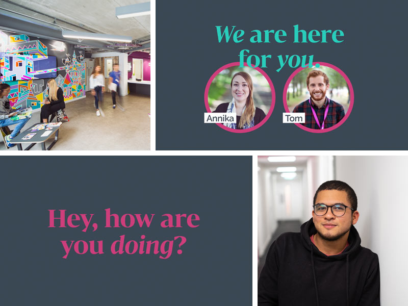 'How are you feeling?' English Plus Digital Marketing students in Brighton design new student welfare video