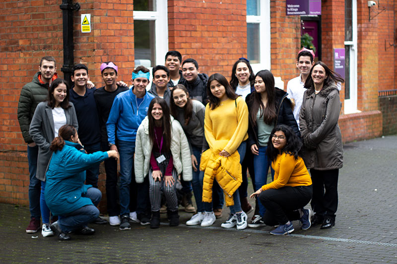 Students from Nicaragua experience UK culture at Kings Bournemouth